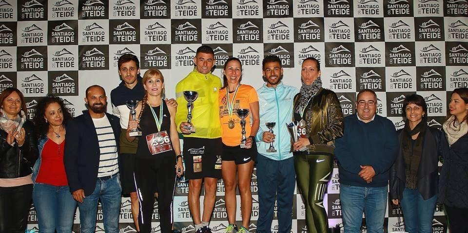 Jairo Pérez y Luz Martín ganadores absolutos de la VII Carrera Nocturna Solidaria de Santiago del Teide