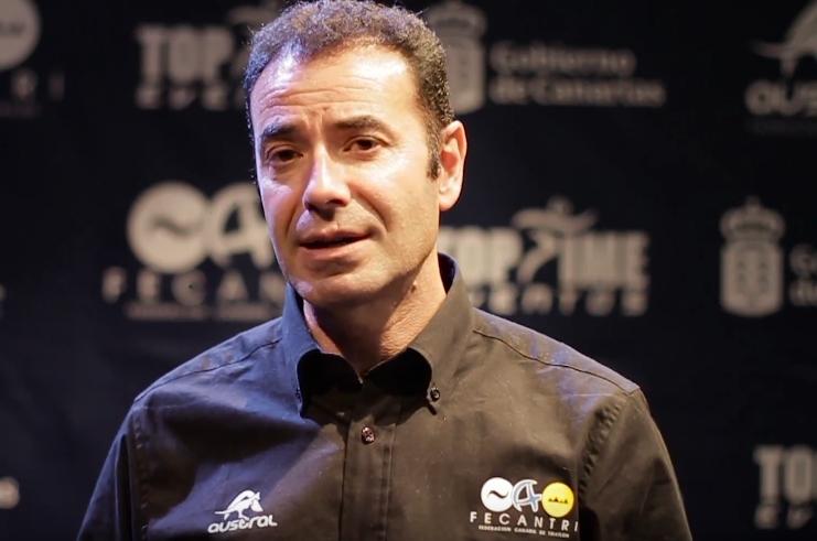 Entrevista a J. Carlos Serrano presidente de Fecantri, con motivo de la Gala Anual de Entrega de Premios