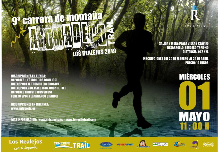 Novena edición de la Asomadero Trail de Los Realejos