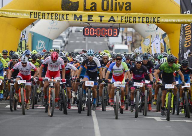 Más de 1.000 participantes se dieron cita este fin de semana en la Fuertebike