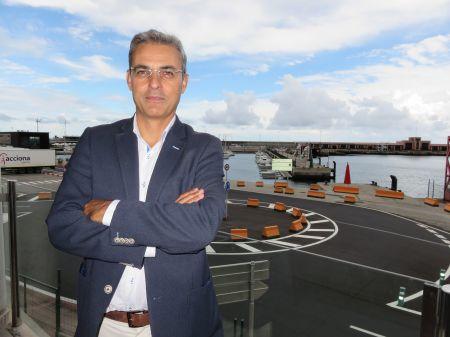 """""""Tenemos que agradecer muchísimo la gran implicación de las instituciones"""" Miguel Jaubert, Travesía a Nado Isla de La Palma"""